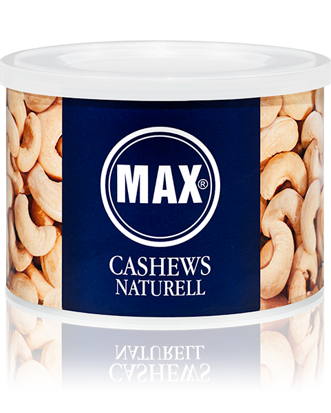 MAX CASHEWS NATURELL (Karton)